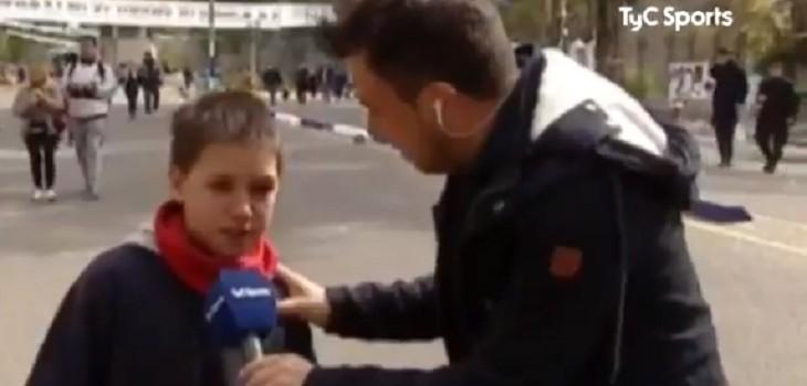 niño sorprendio con respuesta sobre Maradona