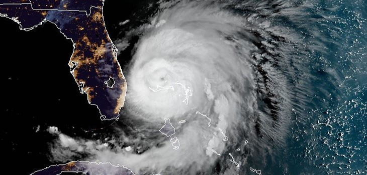 huracan dorian dejo 5 muertos en bahamas