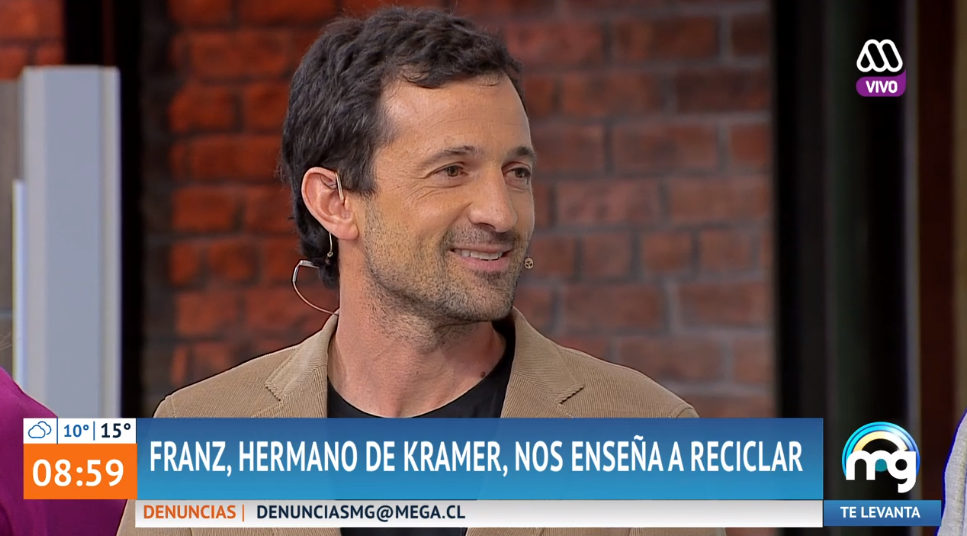 Hermano mayor de Stefan Kramer apareció en Mucho Gusto: es experto en reciclaje