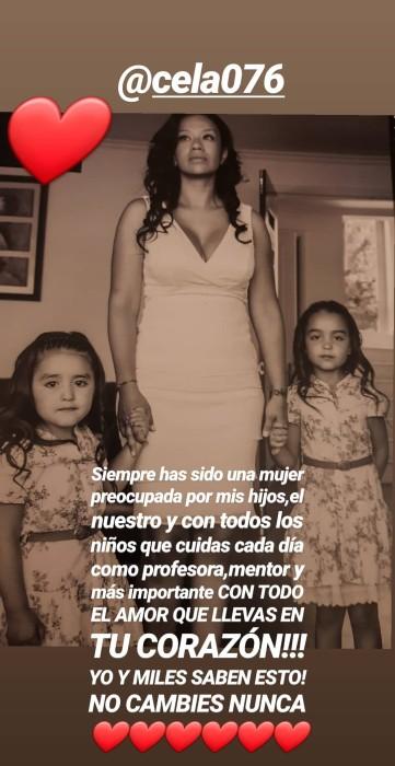 Dj Méndez dedicó sentido mensaje a su expareja Marcela Duque