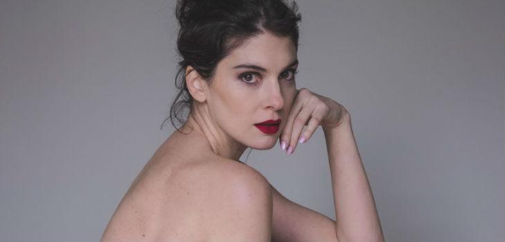 Paloma Moreno posó para sensual sesión de fotos