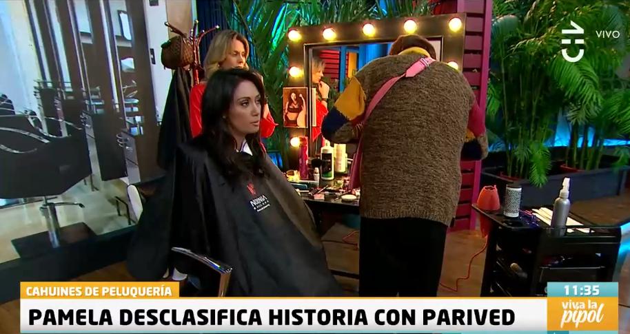 Pamela Díaz relato particular episodio que vivió con Parived