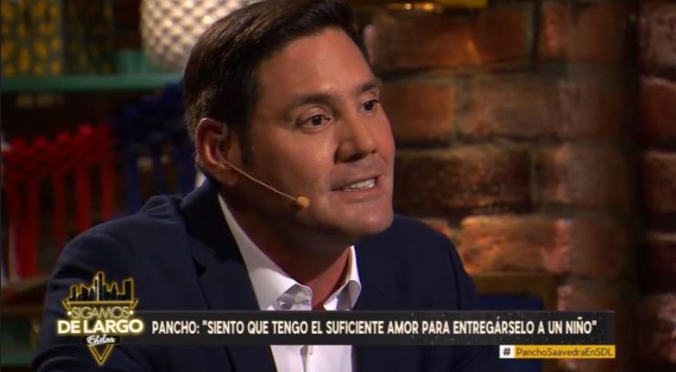 Francisco Saavedra se sinceró sobre su gran anhelo