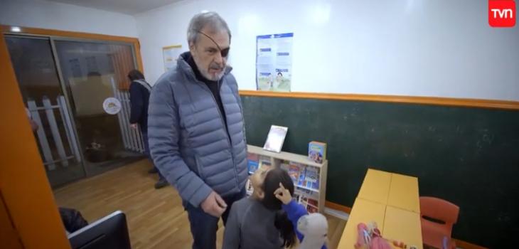 el particular diálogo que tuvo Santiago Pavlovic con unos niños en Sin Parche
