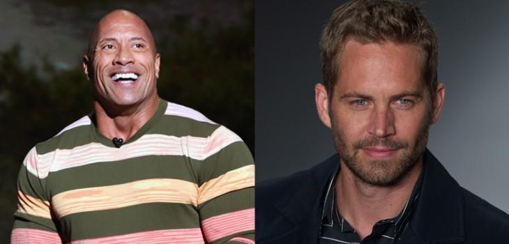 Dwayne Johnson rindió tributo a Paul Walker con conmedora dedicatoria al actor por su cumpleaños