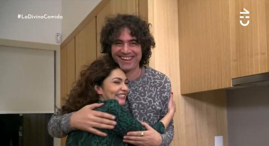 Tamara Acosta se ganó ovación del público en su paso por La Divina Comida