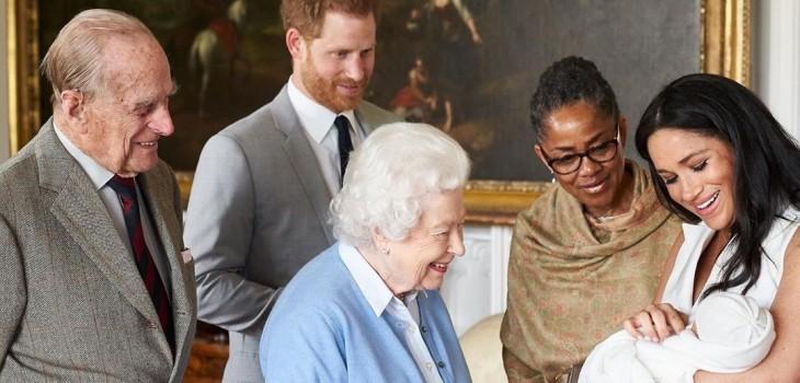 Revelan quién es la madrina del hijo de Meghan Markle y el príncipe Harry