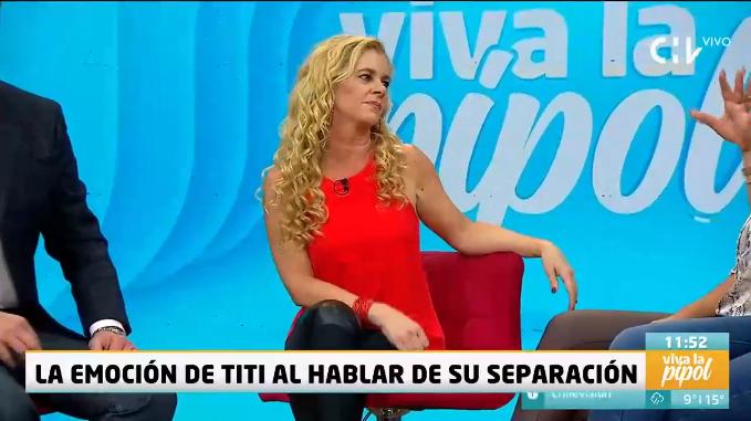 "Titi García-Huidobro se quebró al hablar sobre Pato Torres: ""Nunca pensé que nos íbamos a separar"""