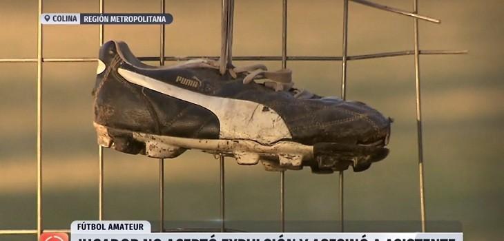 un fallecido en clasico de futbol amateur