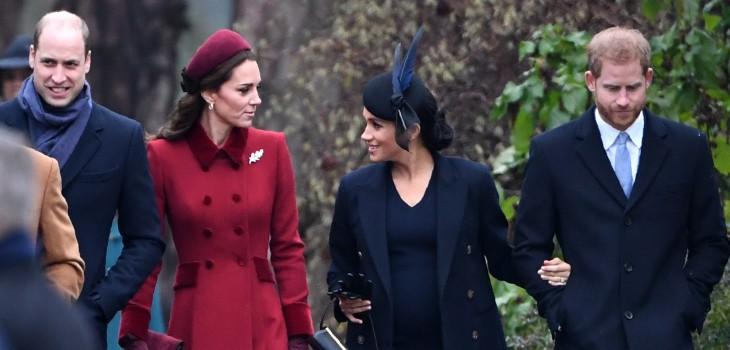 William, Kate, Harry y Meghan se reencuentran por una buena causa y marcan hito en la familia real