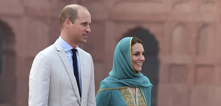kate middleton y príncipe william vivieron susto en pakistán