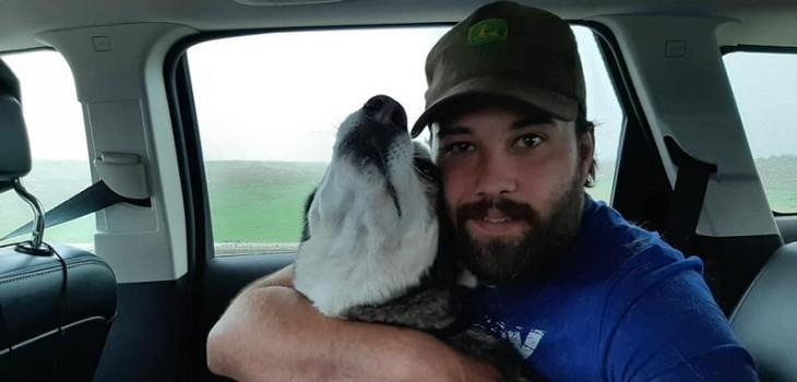 Hombre se encontró con su perro luego de cuatro años