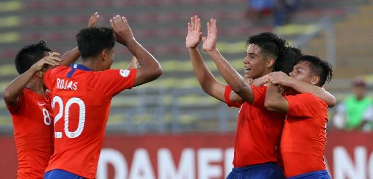 La 'Roja' Sub 17 venció a Haití y escaló al segundo lugar en su grupo del Mundial