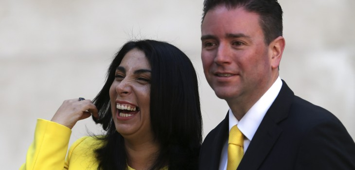 Christián Pino, pareja de Karla Rubilar aseguró que tiene cargo