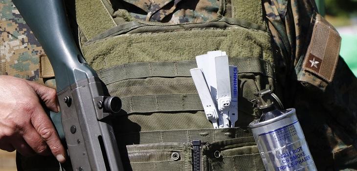 militar se negó a ir a santiago por estado de emergencia