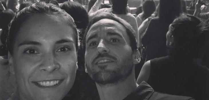 Chapita Fuenzalida cambió roles con su esposa María Jesús Herrera