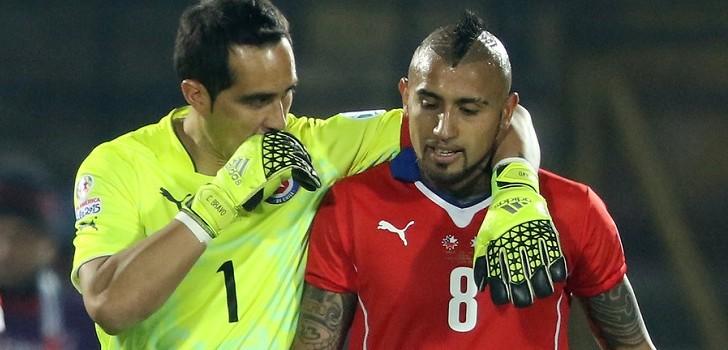 Vidal y próximo reencuentro con Claudio Bravo:
