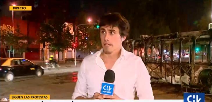 Roberto Cox relató cómo fue momento en que huyó de manifestantes que intentaron 'atacarlo'