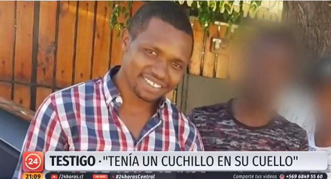 joven haitiano asesinado