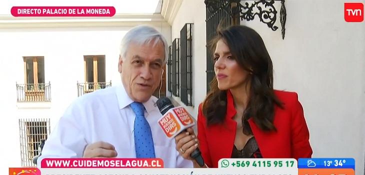 maría luisa godoy e incomodidad de Piñera