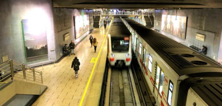 alza en el metro