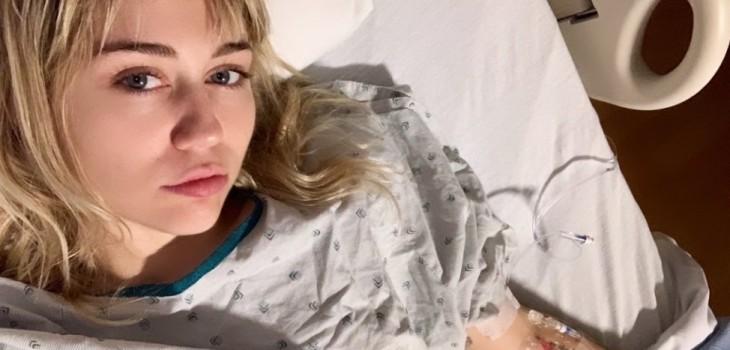 Miley Cyrus fue hospitalizada y su novio Cody Simpson la fue a cuidar: cantante compartió imágenes