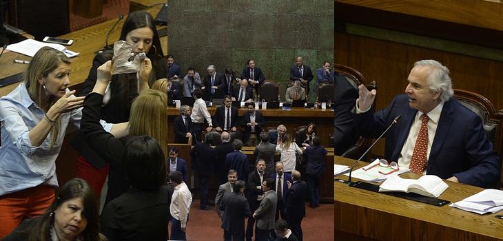 Tensión total en Cámara de Diputados