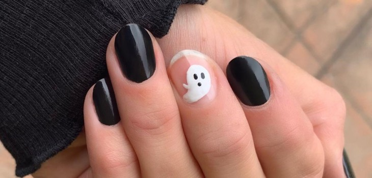 5 fáciles y recatados diseños de manicure para Halloween