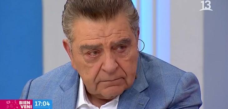 Don Francisco se emocionó hasta las lágrimas al hablar de protestas en Chile