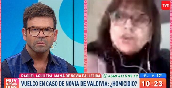 nacho gutierrez y madre de valdiviana fallecida
