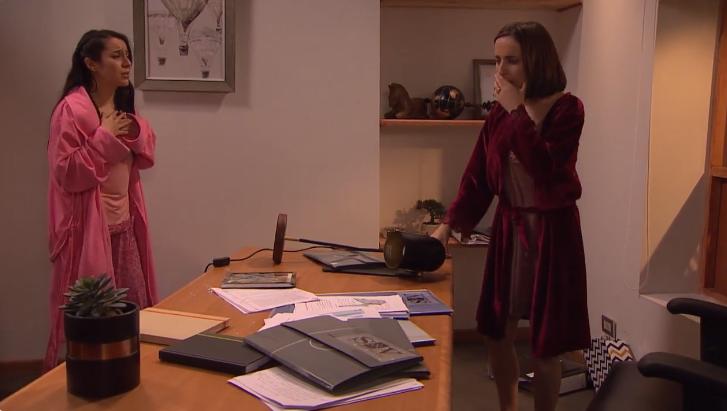 """Verdades Ocultas: teoría señala """"evidente"""" error de Eliana al mandar a robar computador de Rafael"""
