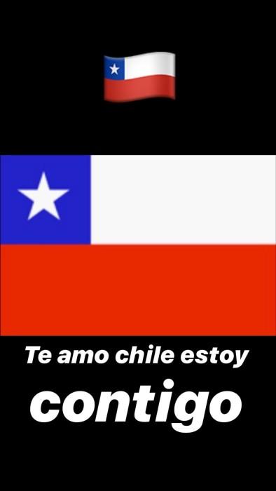 Artistas reaccionan ante manifestaciones en Chile