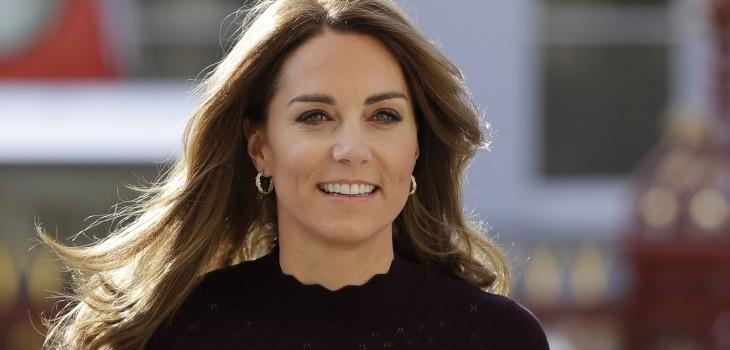 Kate Middleton robó miradas con look de
