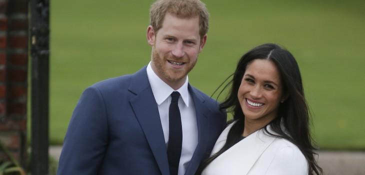Harry y Meghan Markle comparten foto inédita de su boda para celebrar su aniversario de compromiso