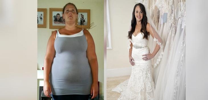 La novia retrasa la boda 18 años después de la propuesta para perder peso