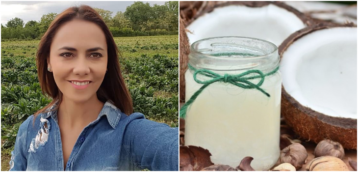 Las propiedades del aceite de coco según Carola Bezamat ¿Los conoces?