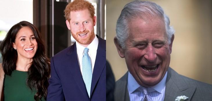Duques de Sussex le desearon feliz cumpleaños al príncipe Carlos compartiendo inédita foto de Archie