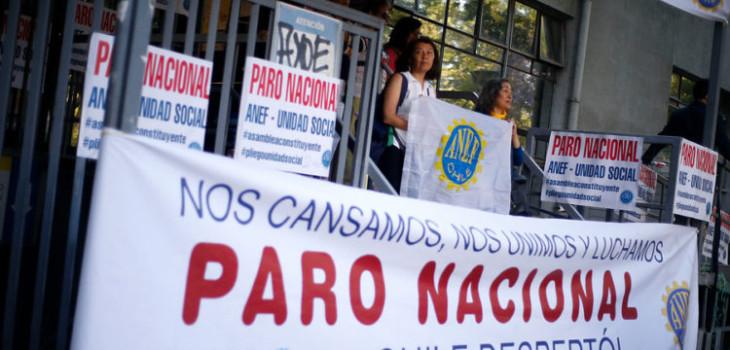 Convocan a nuevo paro nacional a partir de este lunes 25 desde gremios de la Mesa de Unidad Social