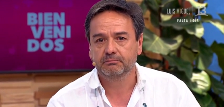Claudio Arredondo rompió en llanto en Bienvenidos
