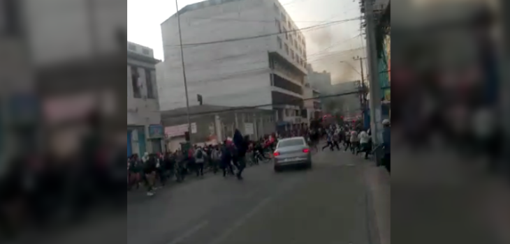 Atropello en Antofagasta