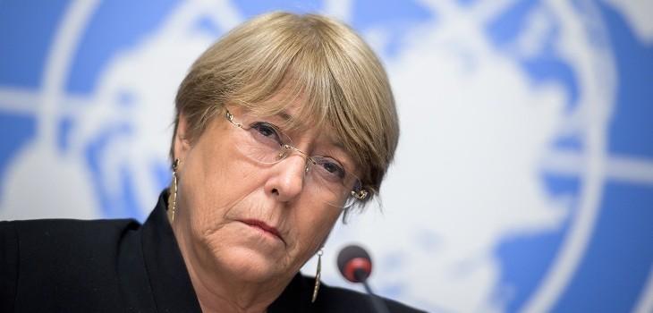 michelle bachelet alta comisionada derechos humanos onu