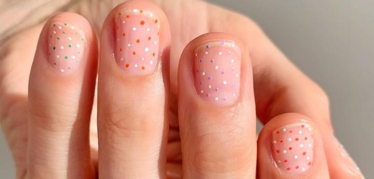 Las uñas cortas vuelven a ser tendencia y estos son los sencillos diseños que puedes lucir