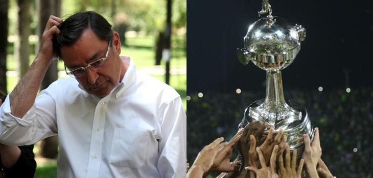Intendente tras cambio en final de Libertadores
