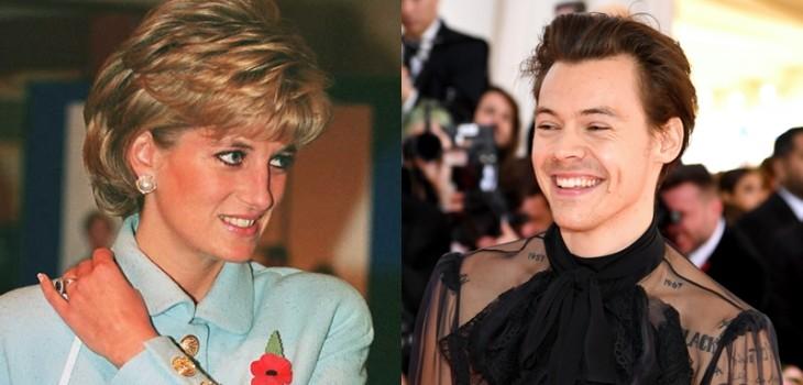 Aseguran que Harry Styles homenajeó a Lady Di con este especial chaleco