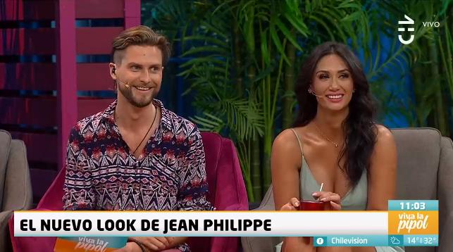 Jean-Philippe Cretton estrenó radical cambio de look en Viva la Pipol: se despidió de su pelo largo