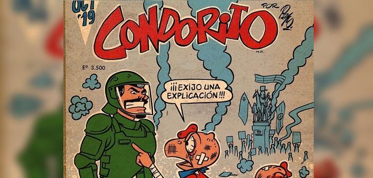 Viralizan estremecedora portada no oficial de Condorito