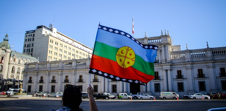 mapuches la moneda