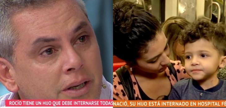 Caso de madre que debe hospitalizar todos los días a su hijo emocionó a Viñuela hasta las lágrimas