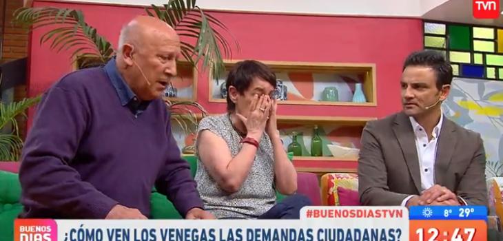 Actriz De Los Venegas Se Quebró En Buenos Días A Todos Al
