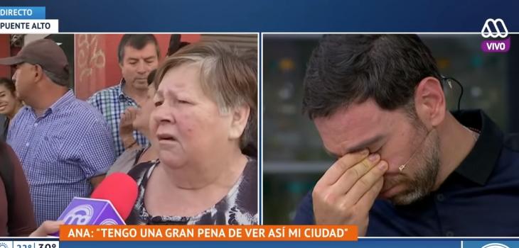 El desahogo de vecina de Puente Alto que dejó sin palabras al panel del Mucho Gusto
